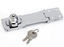 Master Lock Haspe med nøgle stål 118 mm 725EURD