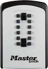 Master Lock Nøkkelboks stor Select Access metall 95 mm 5412EURD