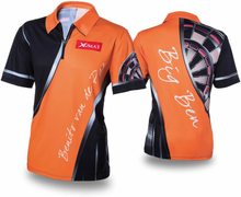 XQmax Darts T-shirt BvdP Replica orange strl L QD9200240