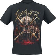 Slayer - Golden Swords 3 Slashes -T-skjorte - svart