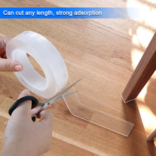 5/3/2/1M Multifunction Double Side Transparent Nano Magic Tape Reusable Acrylic 2/1mm Thick No Trace Adhesive Sticker Tapes Tool