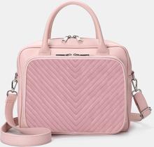 Damen Designer Striped Travel Laptoptasche Umhängetasche
