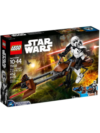 Star Wars Scout Trooper & Speeder Bike - 75532 - Proshop