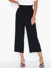 Vila Virasha Hw Cropped Wide Pant/L Byxor