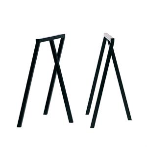 Hay - bordbukke - 2 stk. Loop Stand Frame - sort - 72 cm høj
