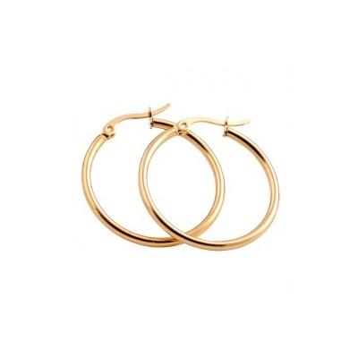 Everneed Mille Large Hoop Gold 25 mm