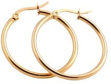 Everneed Mille Large Hoop Gold 25 mm