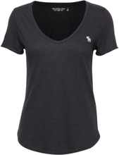 Icon Tee T-shirts & Tops Short-sleeved Svart Abercrombie & Fitch