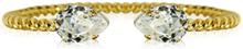 Caroline Svedbom Mini Drop Bracelet Gold Crystal