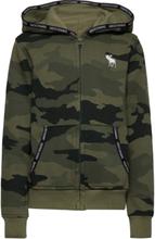 Sweatshirt Hettegenser Genser Grønn Abercrombie & Fitch