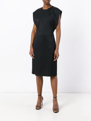 Jil Sander fitted dress - Black