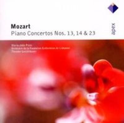 Mozart;Piano Concertos 13/14/23 (Pires M-J)