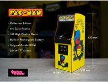 Pac Man 1/4th Scale Arcade Cabinet - Collectors Edition
