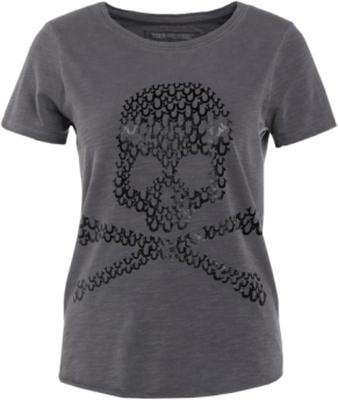 True Religion BOXY CREW SKULL Tshirt med tryck bla