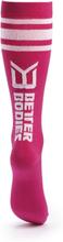 Better Bodies Knee Socks, hot pink, medium (37-39) Strumpor dam