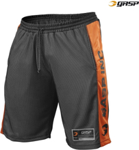 GASP NO1 Mesh Shorts, black/flame,large Shorts herr