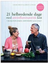 21 helbredende dage med antiinflammatorisk kost BOG Forf. Bruun & Langer, 1 stk