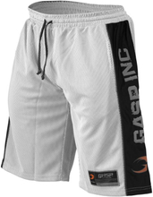 GASP NO1 Mesh Shorts, white/black,large Shorts herr