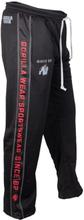 Gorilla Wear Men Functional Mesh Pants, svart/röd, small/medium Träningsbyxor herr