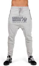 Gorilla Wear Men Alabama Drop Crotch Joggers, grey, medium Träningsbyxor herr