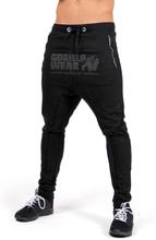 Gorilla Wear Men Alabama Drop Crotch Joggers, black, medium Träningsbyxor herr