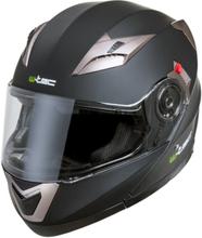 W-TEC Motorcykelhjälm YM-925, matte black, large (59-60) MC-tillbehör