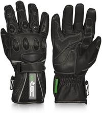 W-TEC MC Handskar Perfect, black, small MC-tillbehör unisex