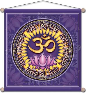 Meditations Banner med Aum