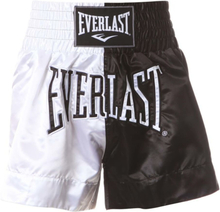 EVERLAST Boxningsshorts Thai vit och svart M