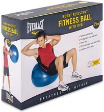 EVERLAST Uppblåsbar träningsboll 75cm blå