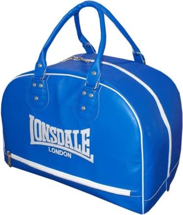 LONSDALE Sportväska i läderimitation blå