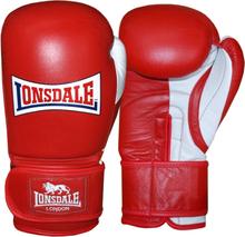 LONSDALE Sparringhandskar Pro Safe röd 14oz