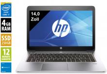 HP EliteBook Folio 1040 G1 - 14,0 Zoll - Core i7-4600U @ 2,1 GHz - 4GB RAM - 250GB SSD - WSXGA (1600x900) - Webcam - Win10Home