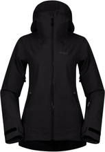 Bergans Stranda Insulated Hybrid Women's Jacket Dame skijakker fôrede Sort XS