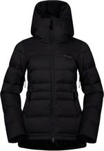 Bergans Stranda Down Hybrid Women's Jacket Dame skijakker fôrede Sort L