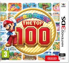 Mario Party: The Top 100 - 3DS - Action