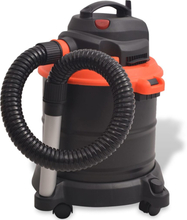 vidaXL Asksug 1200 W 20 L svart och orange
