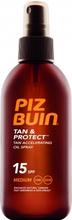 Piz Buin Tan & Protect Tan Acceleration Oil Spray - SPF15 150 ml