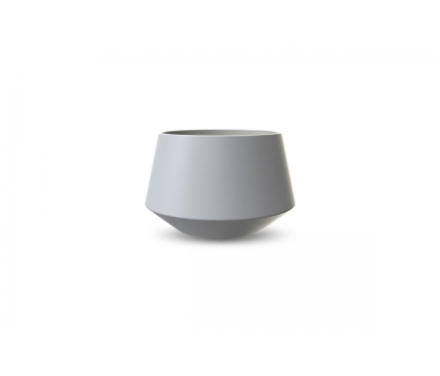 Cooee Convex - Urtepotteskjuler - Lysgrå - 9,5 cm.