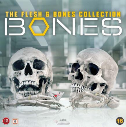 Bones: The Flesh & Bones Collection (Seasons 1-12) - DVD