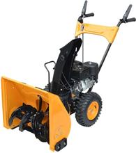 vidaXL snekaster 6,5 hk gul og sort