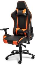 Pista V2 Gaming Stuhl - Schwarz / Orange - PU-Leder - Bis zu 150 kg