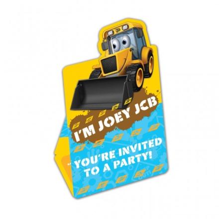 JCB inbjudningskort I´m Joey - 8 st