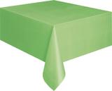 Bordsduk i plast - Limegrön