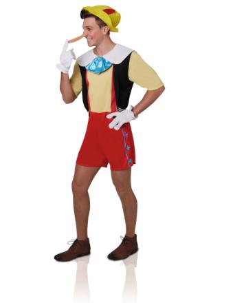 Pinocchio - kostume voksen - Vegaoo.dk