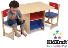 KidKraft Barnbord med 2 stolar set