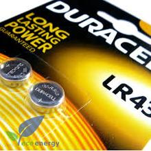 LR43/301/386/AG12/ Knappcell Batteri