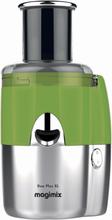 Magimix Duo Plus XL juicer/saftpresser grønn/mat krom