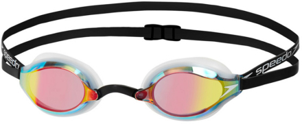 speedo Fastskin Speedsocket 2 Mirror Goggles Unisex, white/rose gold 2019 Uimalasit