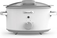 Crock-Pot Slowcooker 4,5L One Pot Cooking Duraceramic Manuell Vit